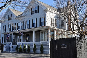 House at 5 Bennett Street - Image: Wakefield MA 5Bennett Street