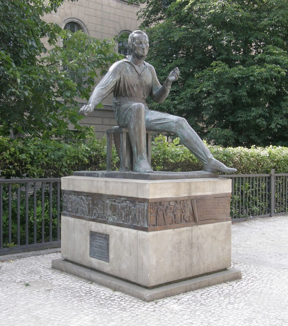 Waldemar Grzimek - Heinrich-Heine-Denkmal IIb 01