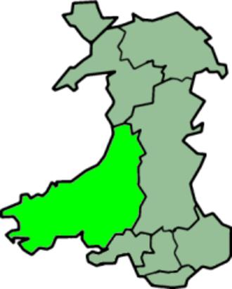 Dyfed - Image: Wales Dyfed