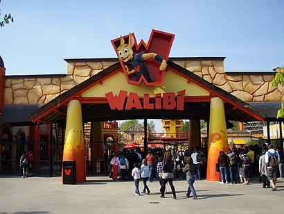 How to get to Walibi Belgium with public transit - About the place