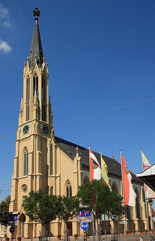 Walldorf Evangelische Kirche 20100707