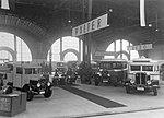 Walter PN a Walter D-Bus v popředí, v pozadí Walter Comercial na stánku Walter při pražském autosalonu 1931.jpg