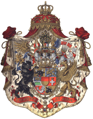 Christian Ludwig II, Duke of Mecklenburg-Schwerin - Mecklenburg-Schwerin Coat of Arms.