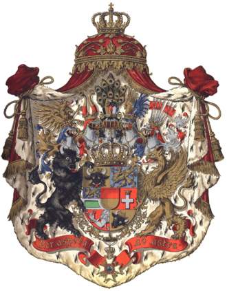 Christian Ludwig II, Duke of Mecklenburg-Schwerin - Mecklenburg-Schwerin Coat of Arms.