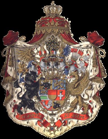 Wappen des Großherzogs von Mecklenburg-Schwerin