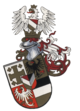 Coat of arms of the Frankfurt Wingolf after Doeberl (1931) .png