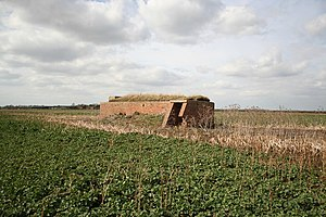 RAF Bardney - A wartime building on the airfield