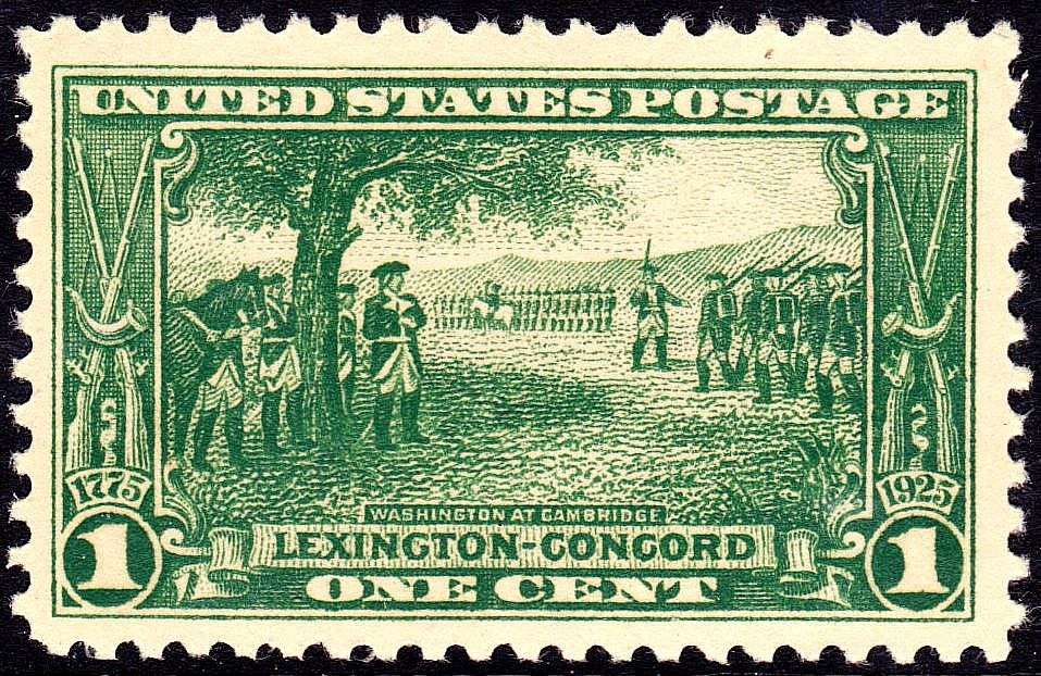 Washington at Cambridge 1925 Issue-2c
