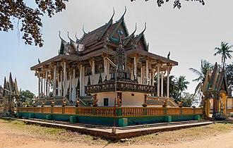 Wat Ek Phnom - Image: Wat Ek 01