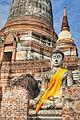 Wat Yai Chai Mongkhon (Temple), Ayutthaya, Thailand.jpg