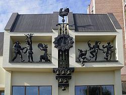 Часы на театре кукольный домик своими руками - cef1e