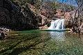 Waterfall Trail at Fossil Creek (25458849796).jpg