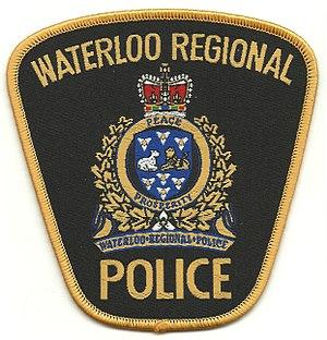 Waterloo Regional Police Service - Image: Waterloo Regional Police Senior Officer Shoulder Flash