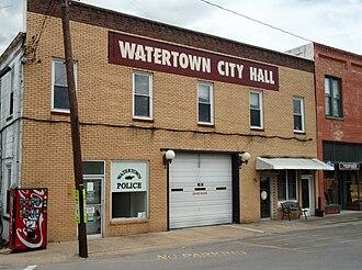 Watertown, Tennessee - Watertown Town Hall