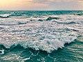 Waves near Rushikonda Beach.jpg