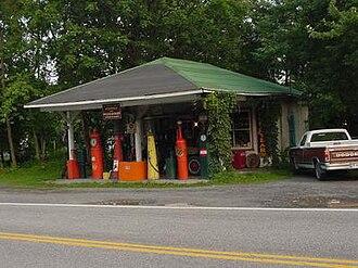 Burlington, West Virginia - Weaver's Antique Service Station (c. 1930)