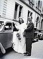 Wedding photography 1948, Hungary Fortepan 105187.jpg