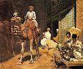 Weeks Edwin Lord A Marketplace In Ispahan.jpg