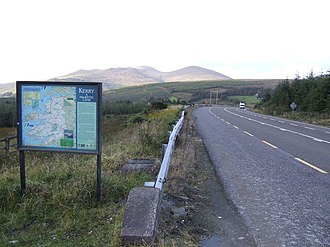 Muskerry West - The most western part of the  barony at the Kerry county bounds.