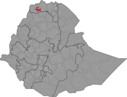 Location of Welkait