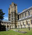 Wells - Cathedral c.1230, Cloisters.jpg
