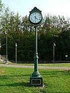 Wells maine transportation center memorial clock 2006