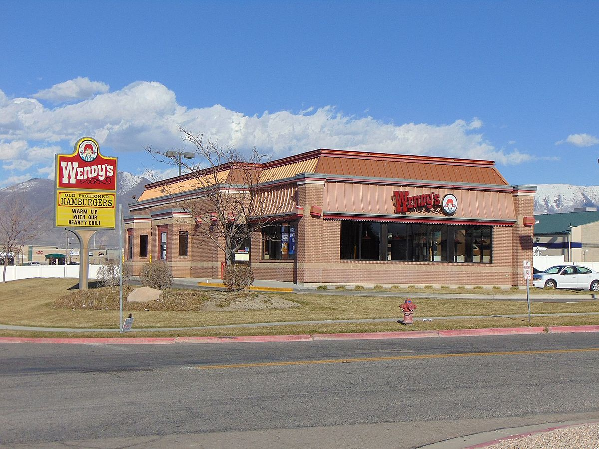 Wendy's restaurant in Spanish Fork, Utah, Mar 16.jpg