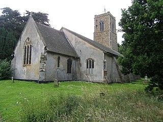 Wenhaston village in the United Kingdom