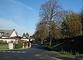 Werl, Hilbeck, Ortsdurchfahrt am Friedhof.JPG