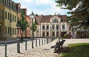 Wesenberg, Mecklenburg-Vorpommern - Image: Wesenberg Markt