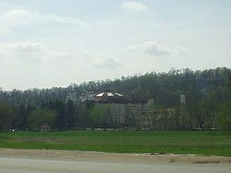 West Baden Springs Hotel - Image: West Baden Dome