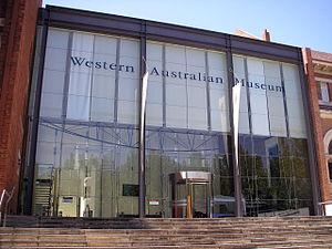 Western Australian Museum - Western Australian Museum front entrance, Perth