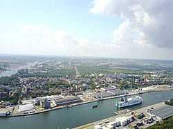 Aerial view of Nowy Port