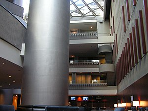 Westin Peachtree Plaza Hotel - Inside the Westin Peachtree Plaza