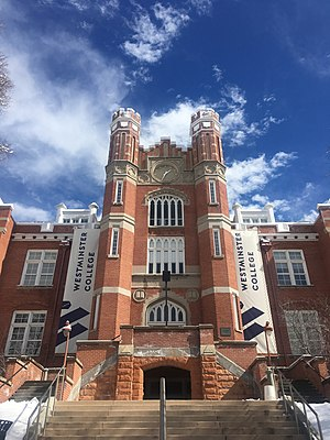 Westminster College (Utah) - Westminster College Converse Hall