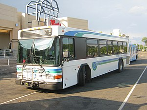 Norwalk Transit District - Image: Wheels Gillig 171