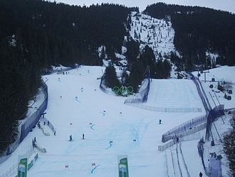 Alpine skiing at the 2010 Winter Olympics - Image: Whistlercreekside