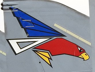 302nd Tactical Fighter Squadron (JASDF) - Tail marking (2016)