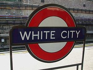 White City tube station