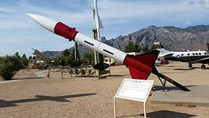 MGR-1 Honest John - White Sands Missile Range Museum Honest John display