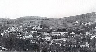 Grinzing - Grinzing, to the north, around 1900