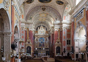 Schottenkirche, Vienna - Interior of the Schottenkirche.