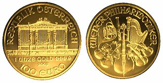 Vienna Philharmonic - The Wiener Philharmoniker Gold coin