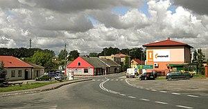 Wierzbica, Radom County - Main street