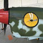 Wiki Loves Art --- Musée Royal de l'Armée et de l'Histoire Militaire ---Hall de l'air, Nord 1002 Pingouin (détail).jpg
