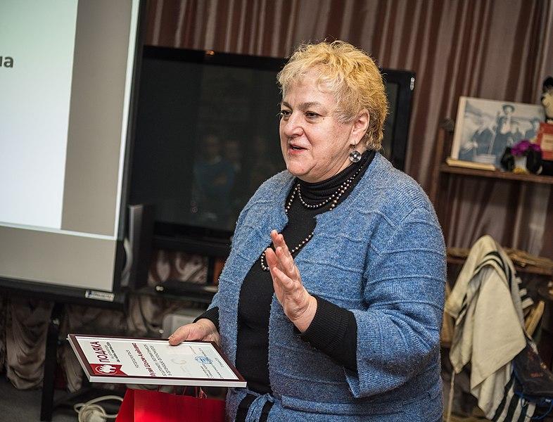 Директорка Музею Шолом-Алейхема Ірина Климова