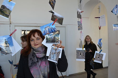 Wiki Loves Monuments Ukraine 2013 Exhibition 102.JPG
