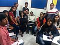 Wiki Nashik Team at Credila.jpg
