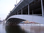 Bolshoy Krasnokholmsky Bridge, SDS steel arches