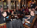 Wikimania 2014 Volunteer Drinks 2014-05-08 02.jpg